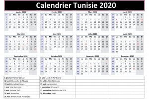Calendrier Vaccinal Tunisie 2020