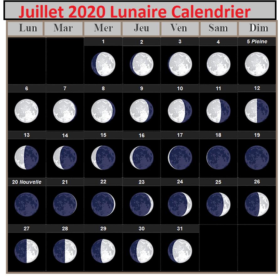 Calendrier lunaire Julliet 020 Grains Et Plantes