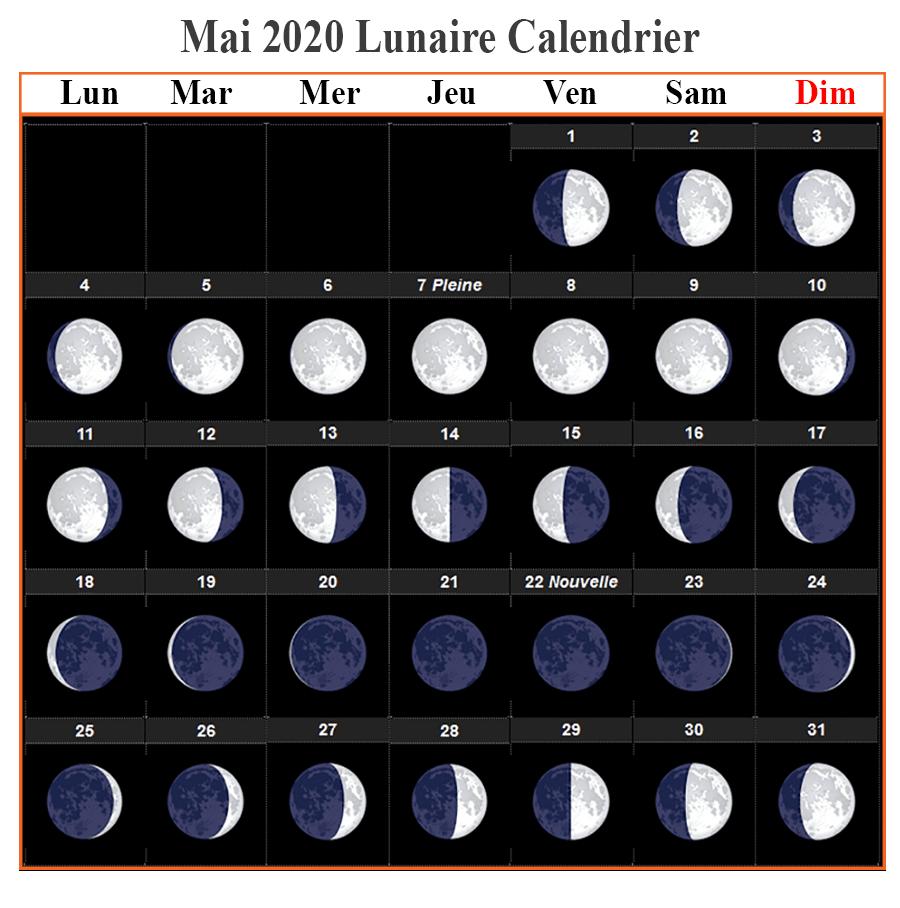 Phases De La Lune Dates Mai 2020