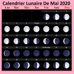 Calendrier lunaire mai 2020 Potager