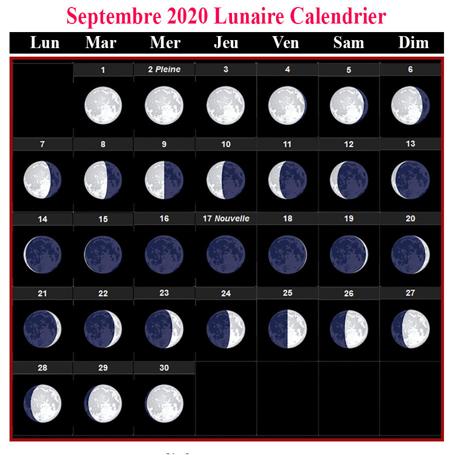 Pleine Lune Septembre 2020