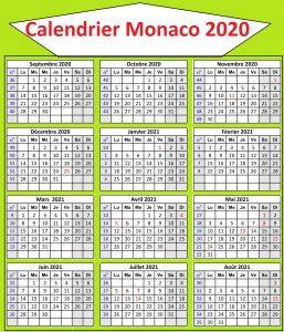 Calendrier Classement Ligue 1 Monaco 2020