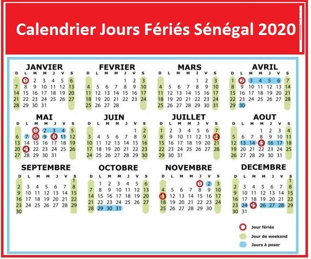 Les Jours Fériés Du Sénégal 2020