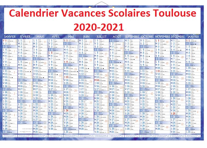 Toulouse Vacances Scolaires 2020 Jours Feries