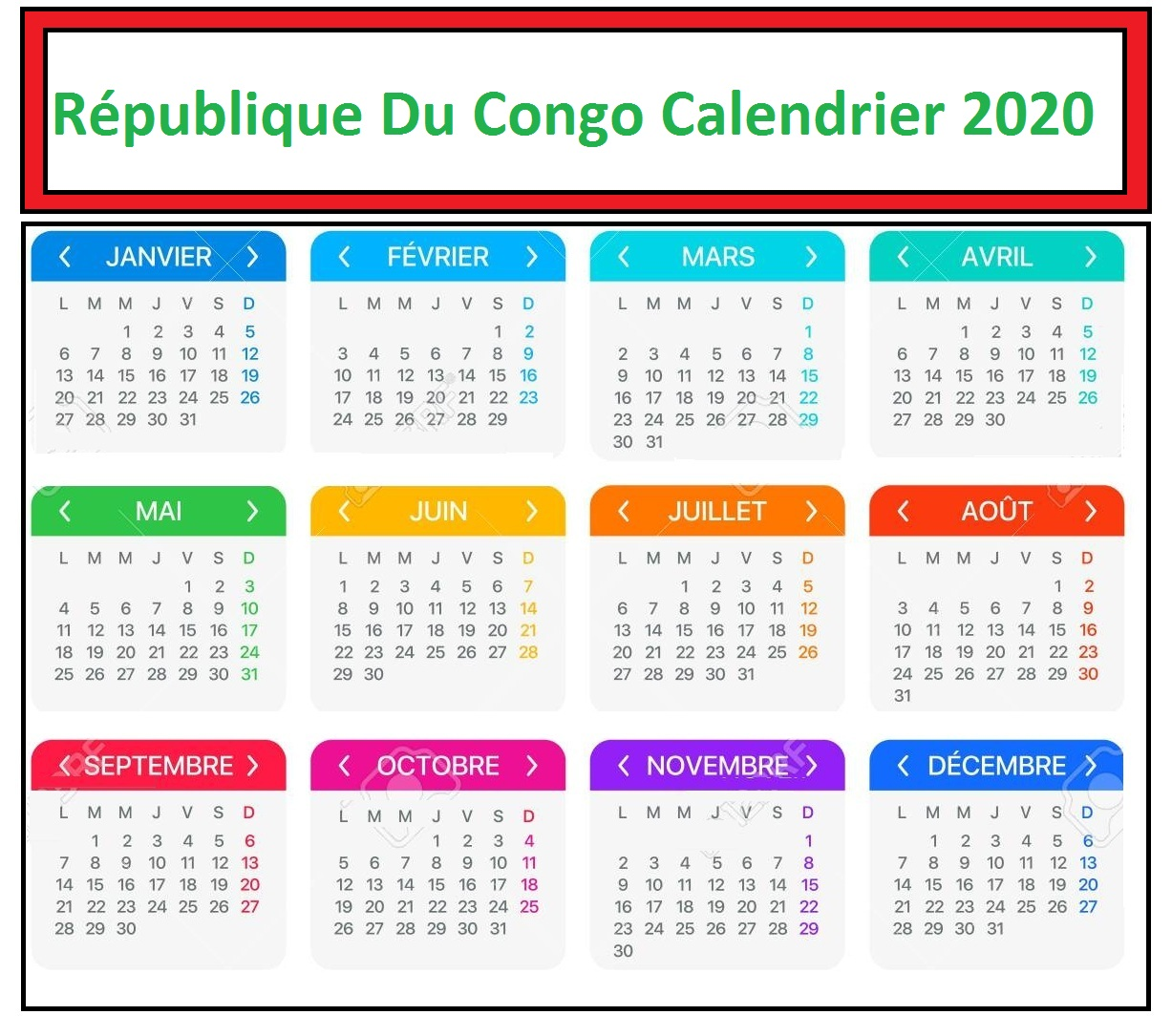 Calendrier Rdc Eliminatoire Can 2021